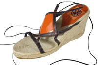Tory Burch Ankle Strap Blue/Orange Sandals