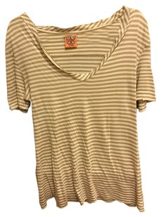 Tory Burch T Shirt Beige White