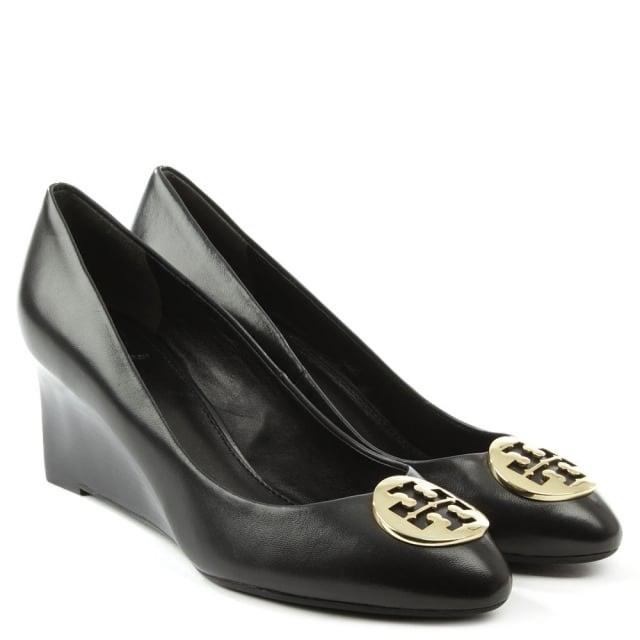 Tory Burch Black Wedges ...