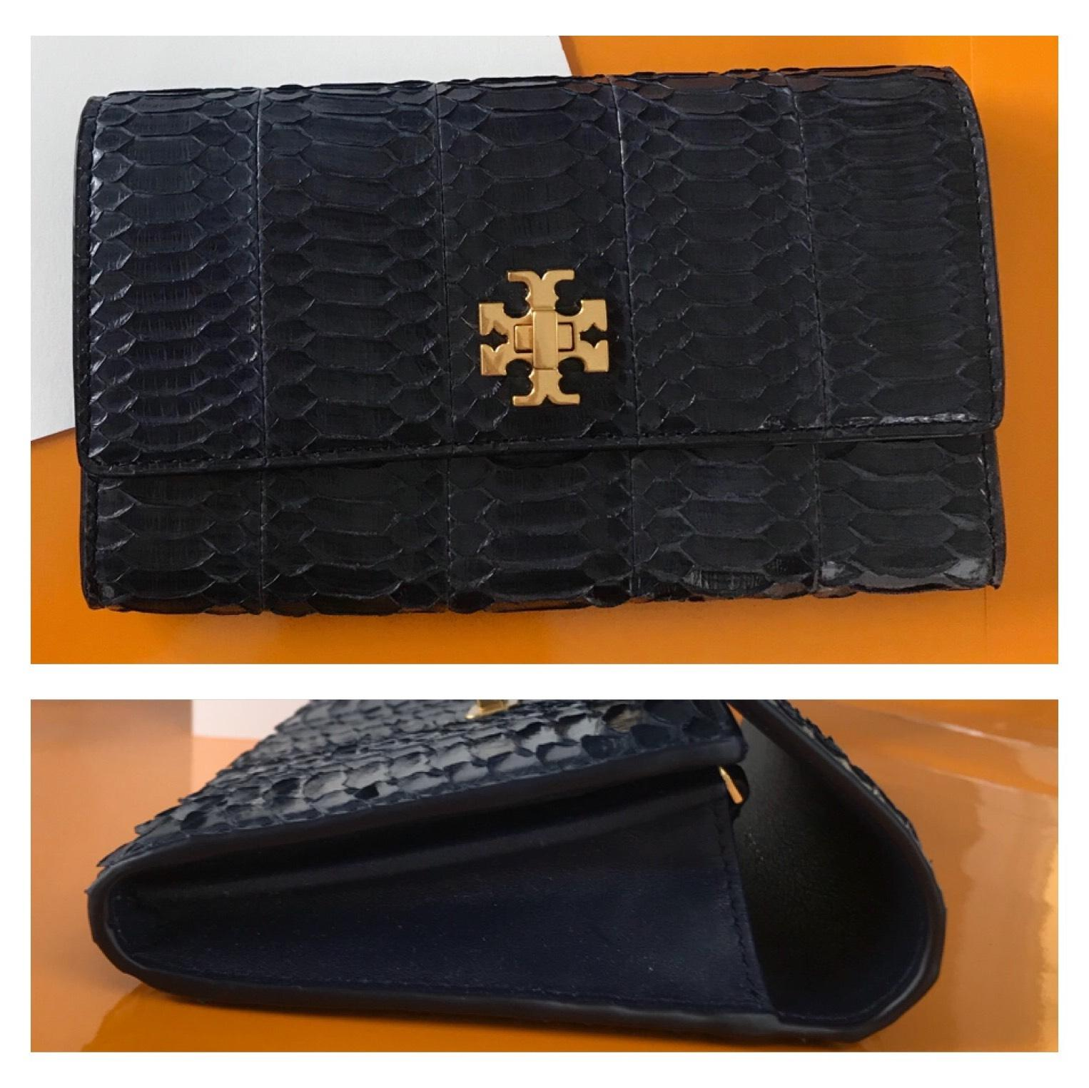 53b0f9bfe ... switzerland tory burch tory burch kira snake envelope continental  wallet 5afcd 7258e