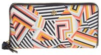 Tory Burch BRAND NEW WITH TAGS TORY BURCH KERRINGTON WALLET PRINTED GRAINY VINYL