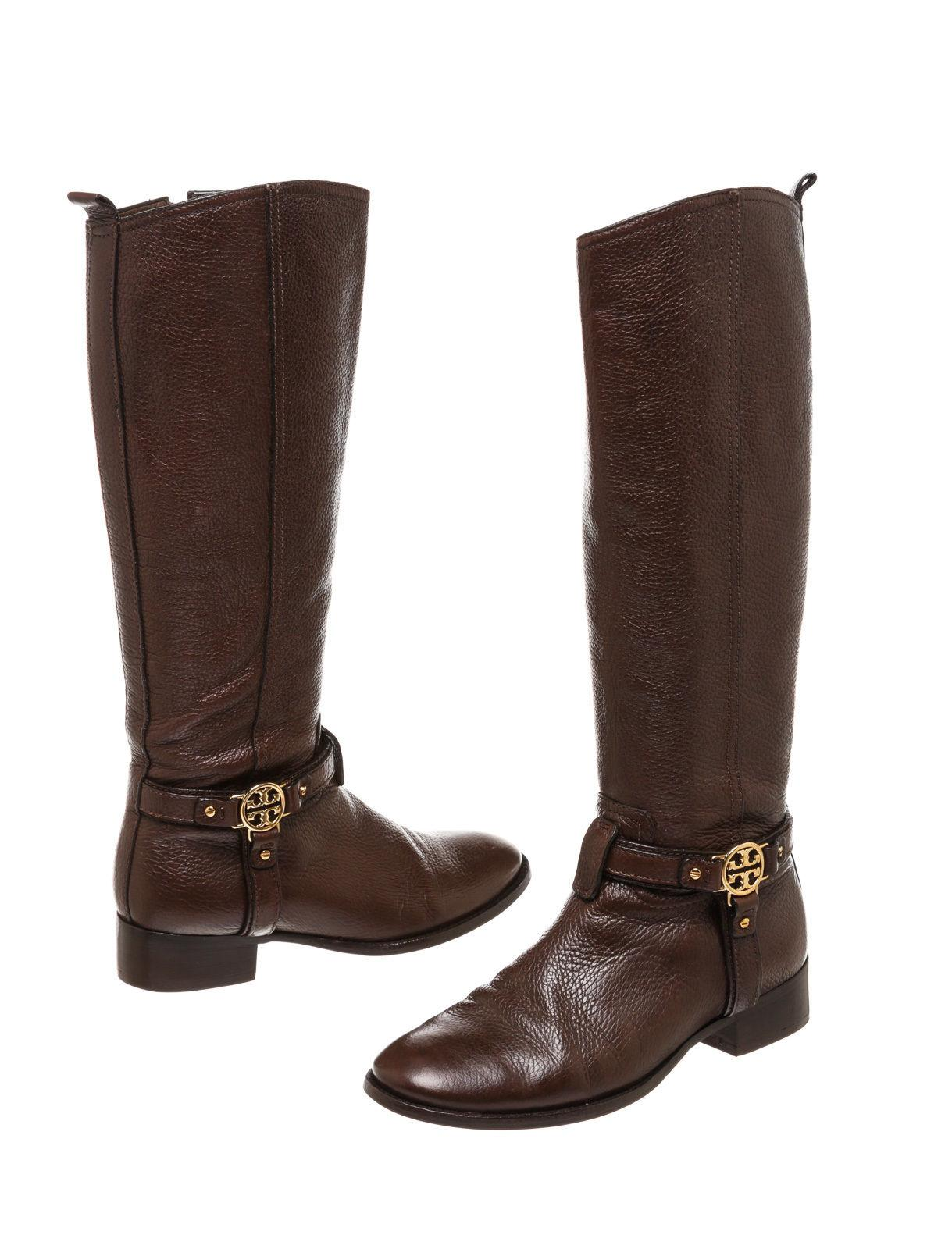 shopping online clearance largest supplier Tory Burch Leather Round-Toe Booties sale new styles sale with credit card VyInH4Aq
