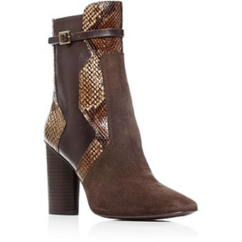 Tory Burch Embossed Platform Booties discount clearance low shipping fee online VZCaYjw