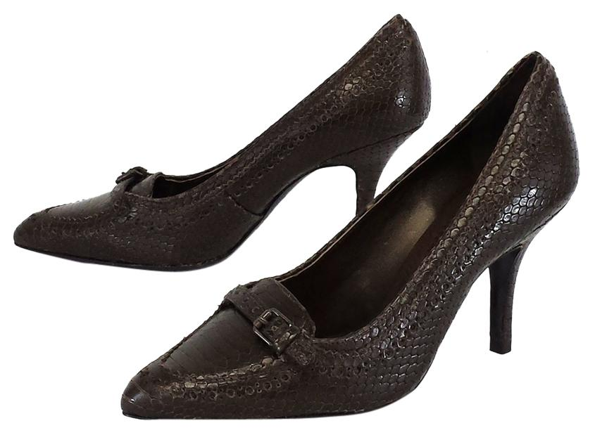 Tory Burch Leather Embossed Pumps clearance for nice bEvT3pA3X