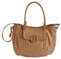 Tory Burch Classic Leather Amanda Hobo Bag