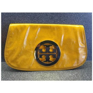 Tory Burch Yellow Clutch