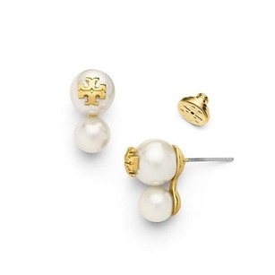 Tory Burch Double Pearl Stud Evie