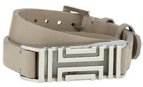 Tory Burch for Fitbit Double Wrap Leather Bracelet