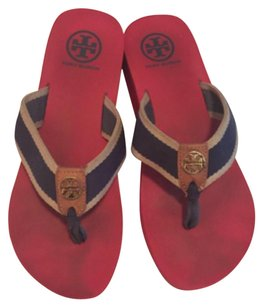Tory Burch Frankie Wedge red Sandals