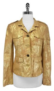Tory Burch Gold Sgt Pepper Jacket