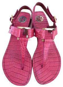 Tory Burch Hot pink Sandals