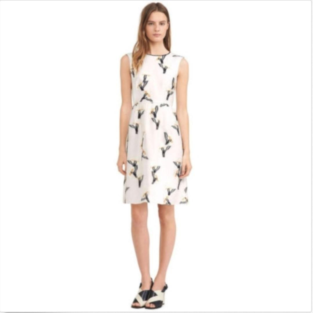 Cheap Sale Best Prices Ivory embroiered short dress Tory Burch Sale Fake Shipping Discount Sale Outlet Amazon z1PgDp