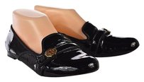 Tory Burch Womens Loafers Solid Casual Slip On Black Flats