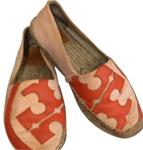 Tory Burch Lonnie Espadrilles orange Flats