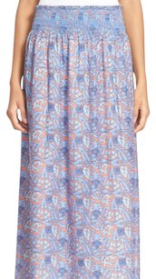 Tory Burch Maxi Skirt SEA CORAL ARTEMIS