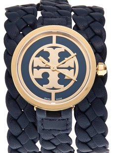 Tory Burch Navy & Gold-Tone Watch