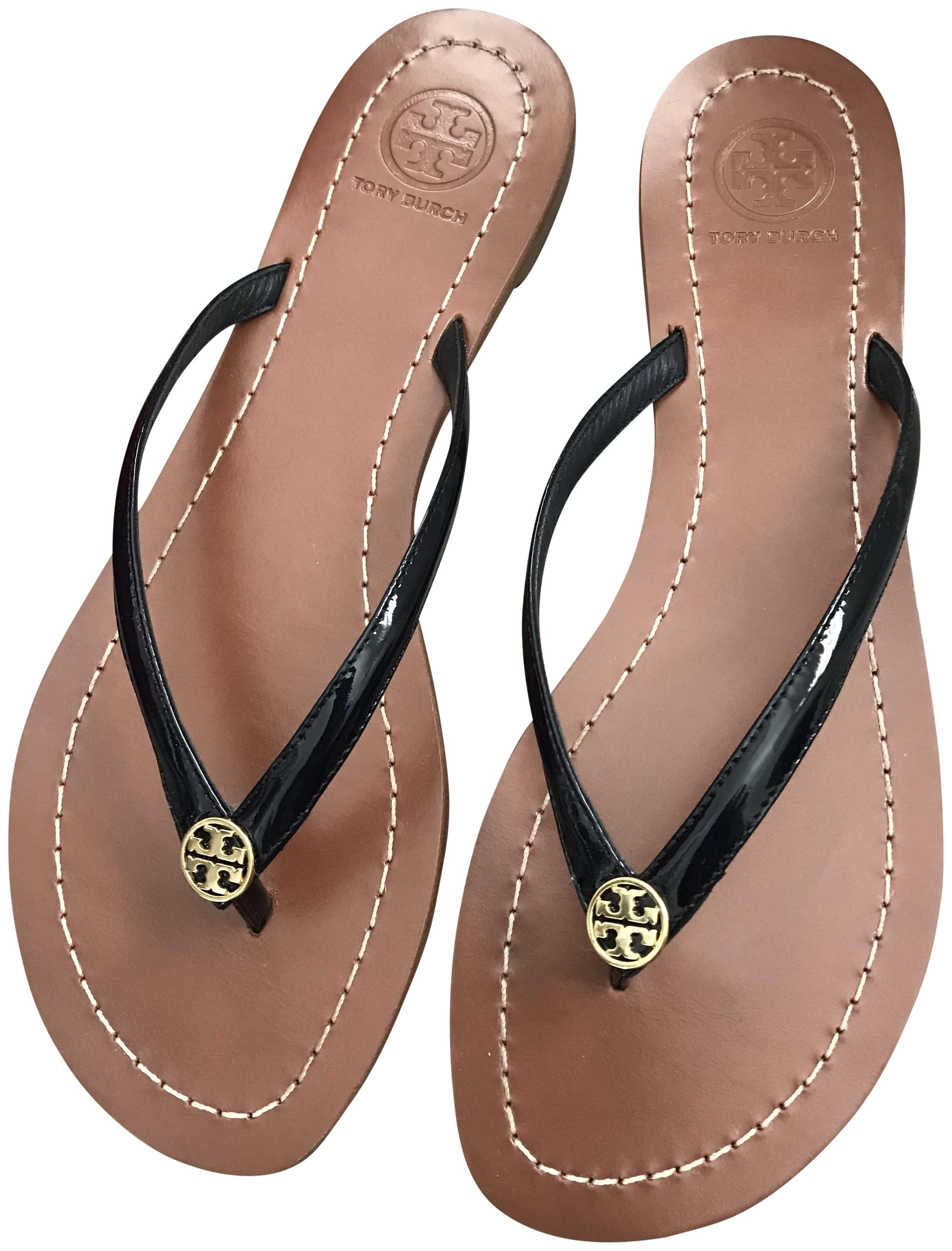 f8e7329a2c11 Tory Burch Burch Burch Navy Terra Thong - - Sandals Size US 8 Regular (M