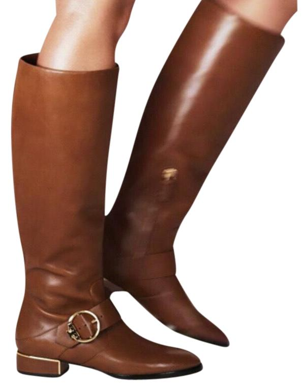 1b38c023c9dd ... size 8 4c5d0 add37  italy tory burch leather riding equestrian new  festival brown boots 2c8a0 67cf2
