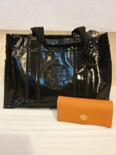 Tory Burch Nylon Tote in black
