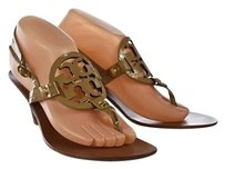 Tory Burch Womens Tan Brown Sandals