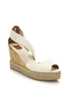 Tory Burch Adonis Stretch Ivory Sandals
