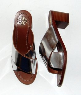 Tory Burch Montrose Silver Sandals