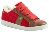 Tory Burch Red/Tan Athletic