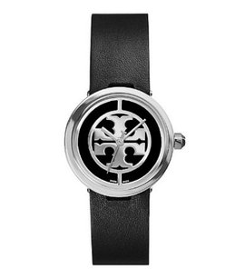 Tory Burch Reva Women's Watch Leather Logo Dial 28 mm