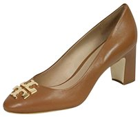 Tory Burch Royal tan/ Gold Pumps
