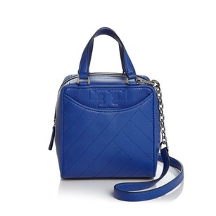 Tory Burch Satchel in Songbird Blue
