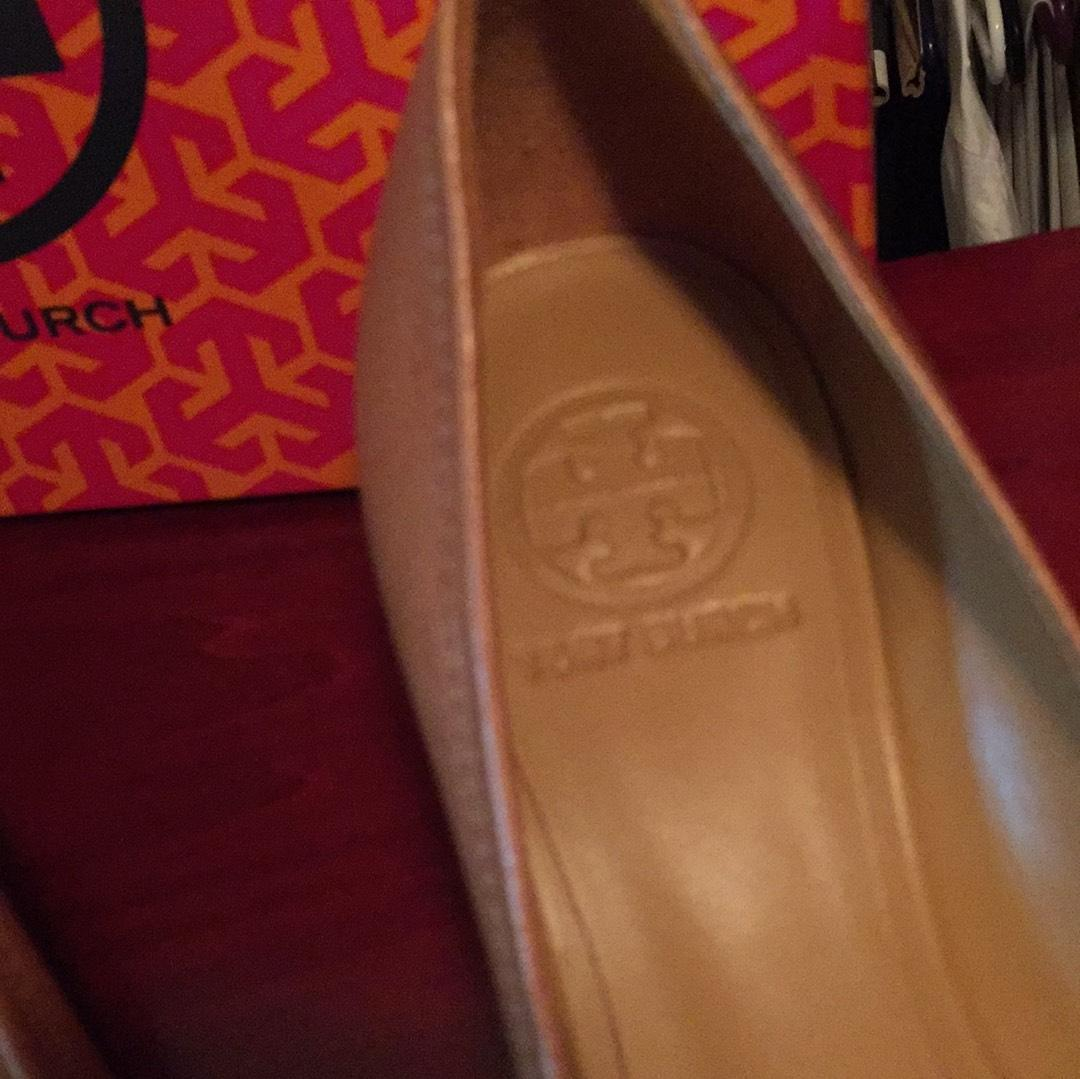 tory burch tan / or (taille sally 2 coins ordinaires (taille or - nous 8 m, b) b4f99a