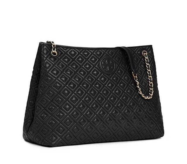 Tory Burch Super Sale New Marion Quilted Center Zip