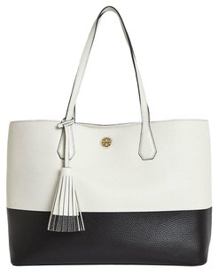 Tory Burch Tote in New Ivory, Black