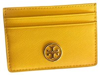 Tory Burch Yellow Card Holder