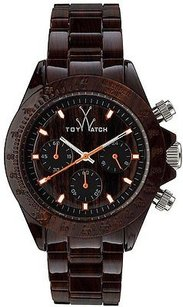 ToyWatch Toywatch Imprint Wood Grain Chronograph Unisex Watch Fle03wd