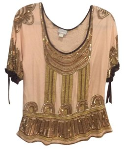 Tracy Reese Beaded Vintage Top