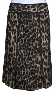 Tracy Reese Womens Skirt Brown