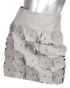 Tracy Reese Womens Skirt Gray