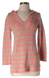 Trina Turk Striped Hooded Tunic