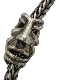 Trollbeads Trollbeads Fabled Faces Retired Sterling Silver Bead Charm 11265
