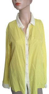 Trouvé Button Down Shirt Yellow