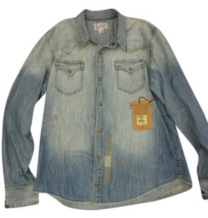 True Religion blue Jacket