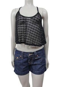 True Religion Jeans Jess Cut Off Shorts denim