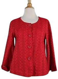 Tulle Los Angeles Womens Red Jacket