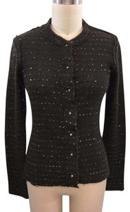 Twelfth St. by Cynthia Vincent Street Mohair Sequin Cardigan Sweater