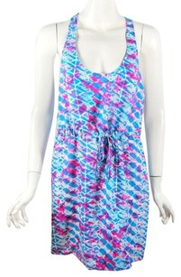 Twelfth St. by Cynthia Vincent short dress Turquoise Sophisticated Blue Multi on Tradesy