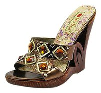 Two Lips Good Womens Nbw brown Sandals