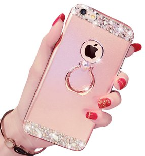 uanergent iPhone 7 And Plus Diamond Metal Protective Cases Covers