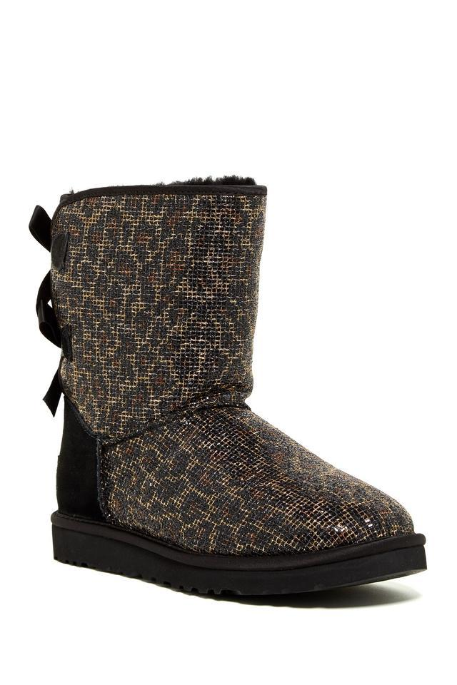 cheetah print ugg boots with bows   division of global affairs