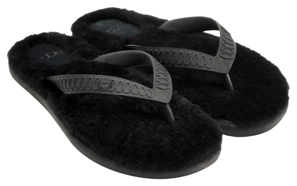 UGG Australia Luxury Black Sandals ...